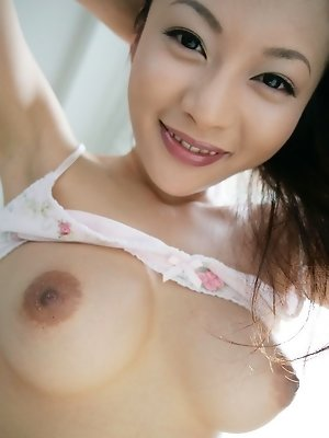 Asian model Koisaya is loely and her pussy is in big demand at the campus party