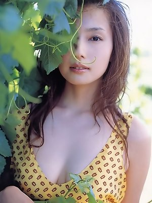 Gorgeous asian angel with soft subtle breasts and pale white skin